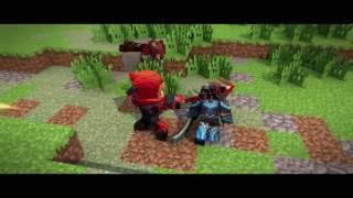 Minecraft  клип ''Война°''.