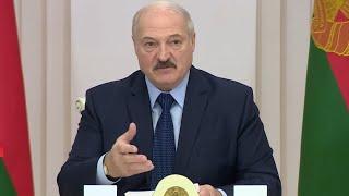 Лукашенко о коронавирусе: Для наркоманов и курцов - это хороший урок! / Совещание по амнистии