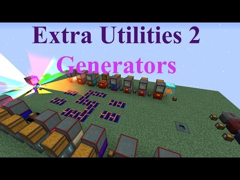 Extra Utilities 2: Generators (Spotlight Update 2-6-17) Minecraft 1.10