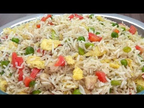 Chicken Fried Rice Recipe || Chinese Fried Rice Recipe || In Urdu