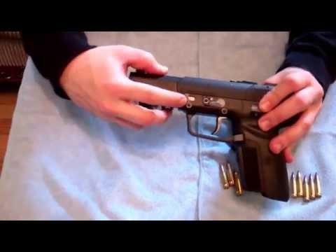 FN Five seveN 5.7 Pistol Disassemble Reassemble