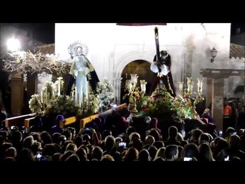 El encuentro. Semana santa Azuaga 2016