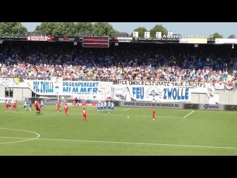 PEC Zwolle - FC Twente 2015/2016 (uitvak)