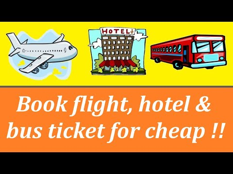 How To Book Flight, Hotel And Bus Tickets Online | Very Easy Method | Technical Toons