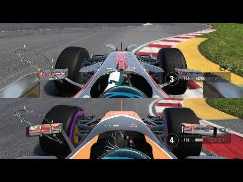 F1 2017 Car Comparison - 2008 Mclaren Mercedes vs 2017 Mclaren Honda (WHICH IS FASTER?)