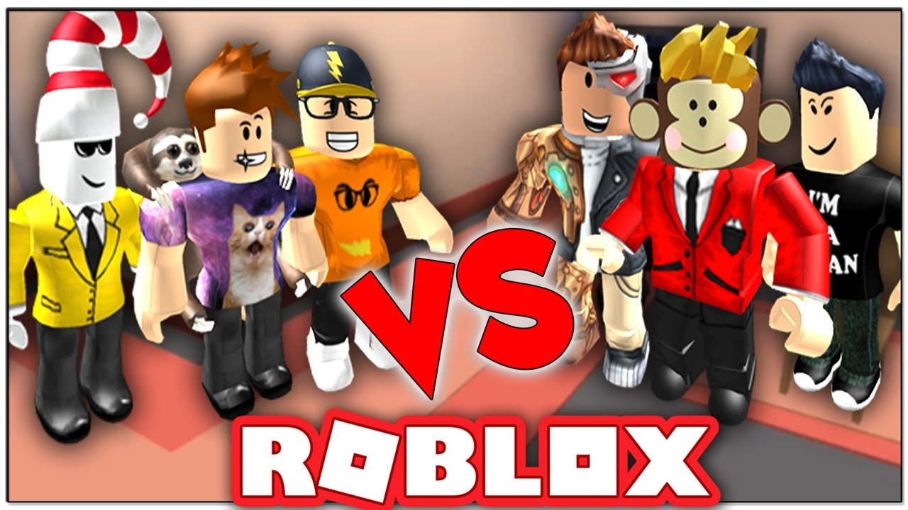 ROBLOX COPS AND ROBBERS | YouTuber Edition ( ROBLOX Jailbreak )