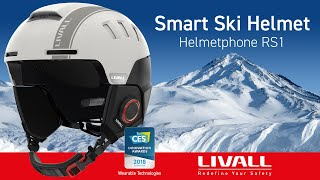 LIVALL RS1 Smart Ski and Snowboard Helmet