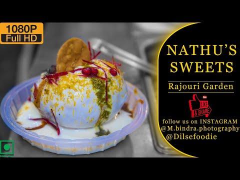 Golgappe | Aloo Tikki Chat | Pav Bhaji | Raj Kachori | Nathu Sweets Rajouri Garden
