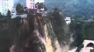 Se registran nuevos derrumbes en Santa Fe