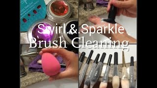 Swirl.&.Sparkle Brush Cleaner Review