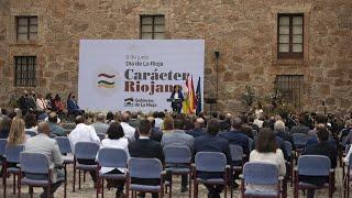 Celebración del acto institucional del Día de La Rioja