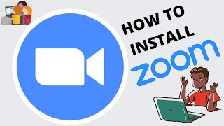 HOW TO DOWNLOAD AND INSTALL ZOOM ON YOUR COMPUTER OR LAPTOP| ZOOM| ZOOM MEETING| SUBSCRIBE|PART-01|
