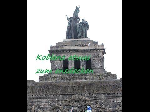 Koblenz, Deutsches Eck bis Festung Ehrenbreitstein