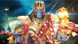 FIGURE Avengers IRON MAN & Dr Strange Fight Thanos Trailer 2 Ep2