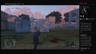 Grand Theft Auto V online Partida muerte