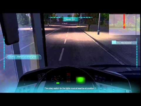 European Bus Simulator 2012 Number Service and Route |