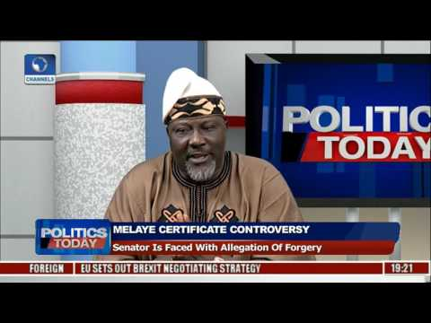 Politics Today: Dino Melaye Clears Air Over Certificate Controversy