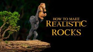 Как сделать за 90 рублей реалистичную горную поверхность (Диорама Король Лев)