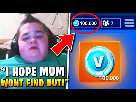 I Bought 1,000,000 V-bucks With Mom's Credit Card, I'm Sorry (fortnite)