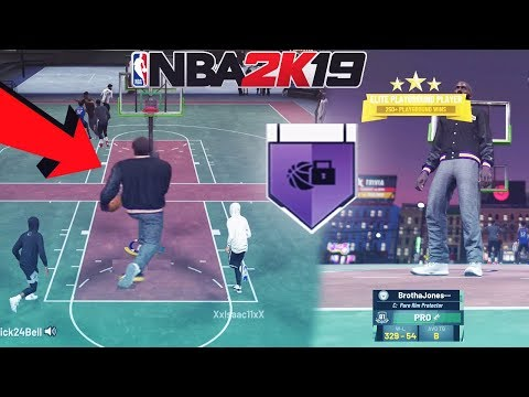 i made a GIANT LOCKDOWN DEFENDER in nba 2k19 and this happened...