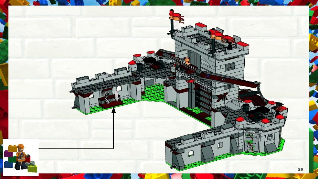 Lego Instructions Castle 7946 Kings Castle Book 2 Youtube