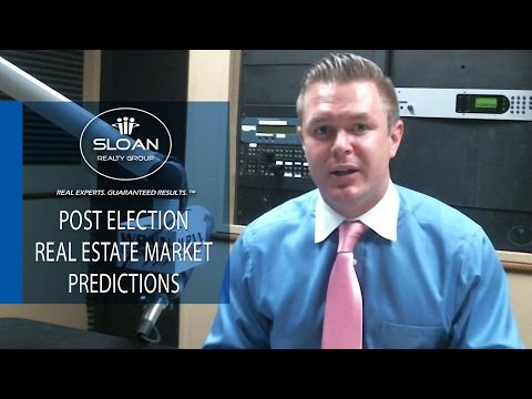 Donald Trump Post Election Market Predictions- Myrtle Beach Real Estate Agent