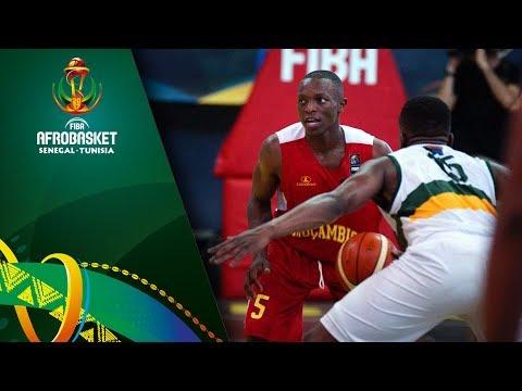 South Africa v Mozambique - Highlights - FIBA AfroBasket 2017