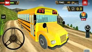 Trò chơi mô phỏng lái xe buýt trường học offroad 2019-androi screenshot 5