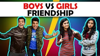 BOYS vs GIRLS FRIENDSHIP | The Half-Ticket Show...