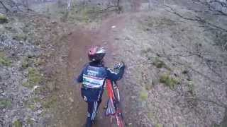 MTB Ride with Junior @ Gaalgebierg Esch 18.02.2015