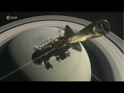 Cassini diving into history