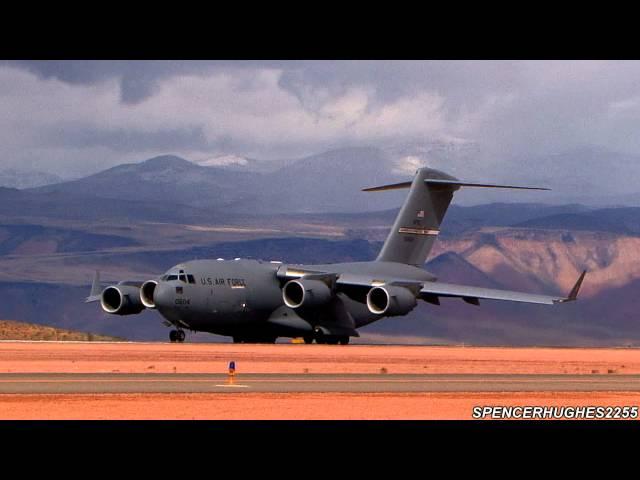 C-17 Departure at St. George Airport