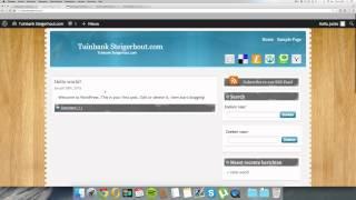 #2 [CASESTUDY] Geld verdienen met een affiliate website - WordPress installeren en thema aanpassen