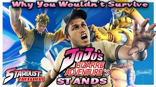 Why You Wouldn't Survive Jojo's Bizarre Adventure's Stands (Stardust Crusaders)