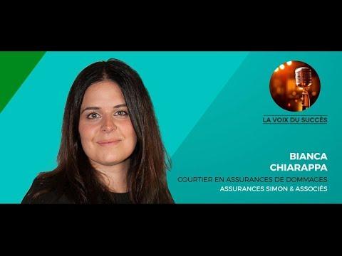 Bianca Chiarappa, Courtier en assurance de dommages   - LA VOIX DU SUCCÈS