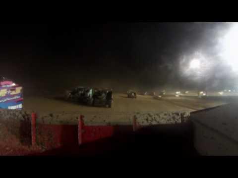 Albany Saratoga Speedway Feature 7/14/17 (Rear Camera)