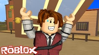 ROBLOX-PLAYING WITH SUBSCRIBERS and REPAIRING DOORS (The Wild West Murder)