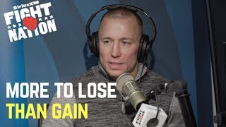 Georges St-Pierre: 'There's More to Lose Than Gain' Fighting Anderson Silva Now   SiriusXM