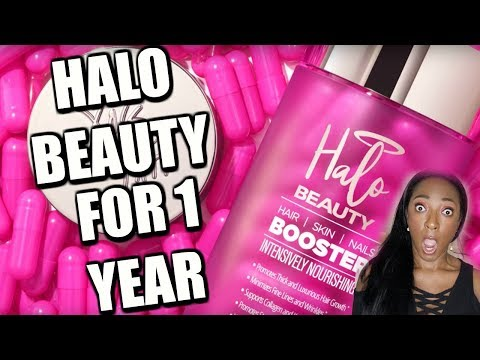 I took HALO BEAUTY Supplements for ONE YEAR and THIS is what happened!!!