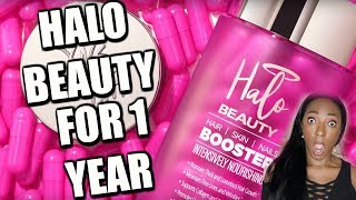 Download I took HALO BEAUTY Supplements for ONE YEAR and THIS is what happened!!! Mp3 and Videos