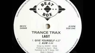 Trance Trax - Auw - 1991