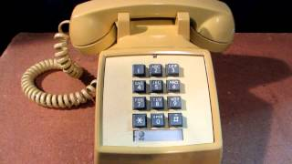 1976 Western Electric Touch Tone telephone