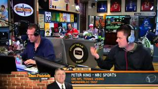 Peter King on The Dan Patrick Show 4/19/13