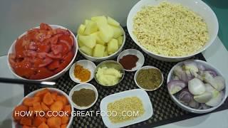 Lentil Tomato Spicy Soup Recipe - Vegan & Easy
