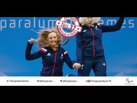 No. 37 Kelly Gallagher and Charlotte Evans make history at Sochi 2014 Paralympics