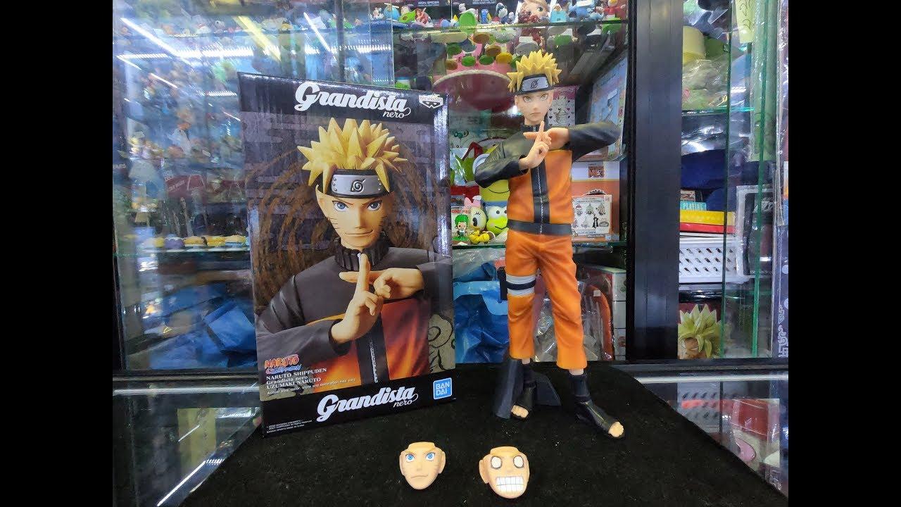Shinobi Relations Banpresto Naruto Shippuden Grandista NERO Uzumaki Naruto