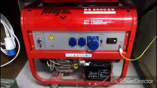 видео Бензогенератор Fubag BS 6600 DA ES