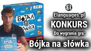 Konkurs do wygrania Bójka na słówka gra do nauki języka angielskiego