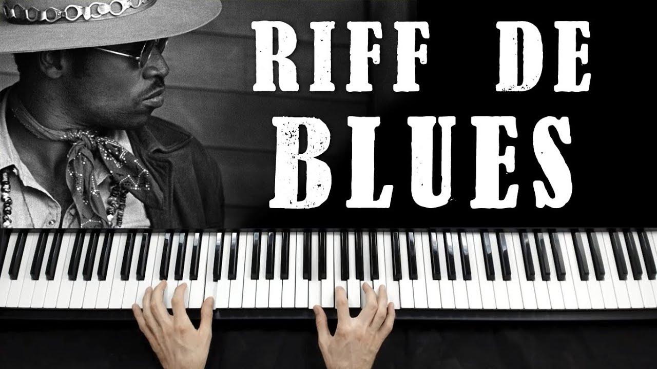 Riff de Blues para Teclado e Piano - Teclas Mágicas