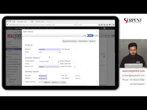 ODOO Property Management